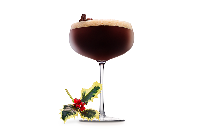 winter spiced espresso martini