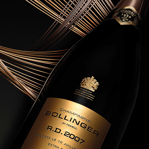 A cuvée Madame Bollinger would be proud of