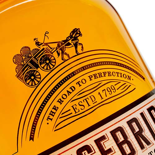 An exceptionally rare 44 year old single cask single grain whisky from Carsebridge.